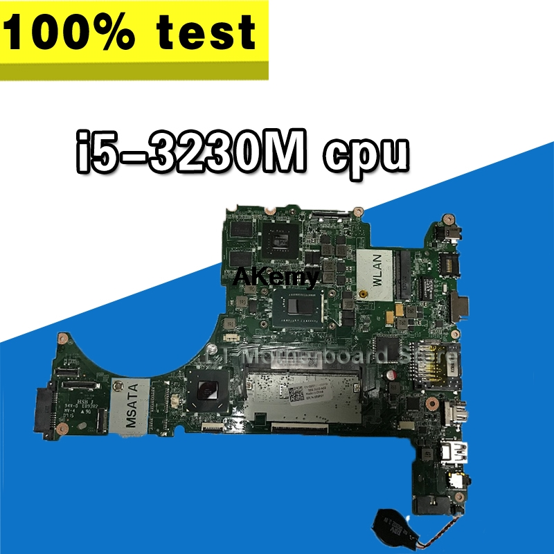for dell Vostro 5560 DA0JWAMB8C0 CN-055PXY 055PXY 55PXY Laptop Motherboard with <font><b>i5</b></font>-<font><b>3230M</b></font> cpu GT630M 2G Tested image