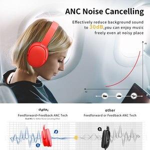 Image 3 - ANC Bluetooth kulaklık aktif gürültü önleyici mikrofonlu kulaklık ile kablosuz kulaklık kutusu Hifi Stereo
