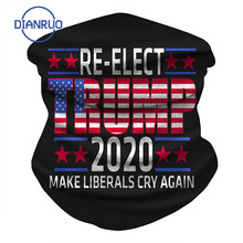 Scarf Magic Face-Mask Printed DIANRUO R603 Wrist-Band 3d-Tube Election Trump Fun Re-Vote