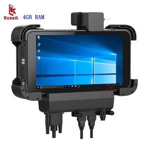 Оригинальный K86 Windows 10 планшетный ПК Прочный Автомобильный держатель для компьютера RS232 USB IP67 прочный ударопрочный 1280x800 HDMI USB GpS навигатор