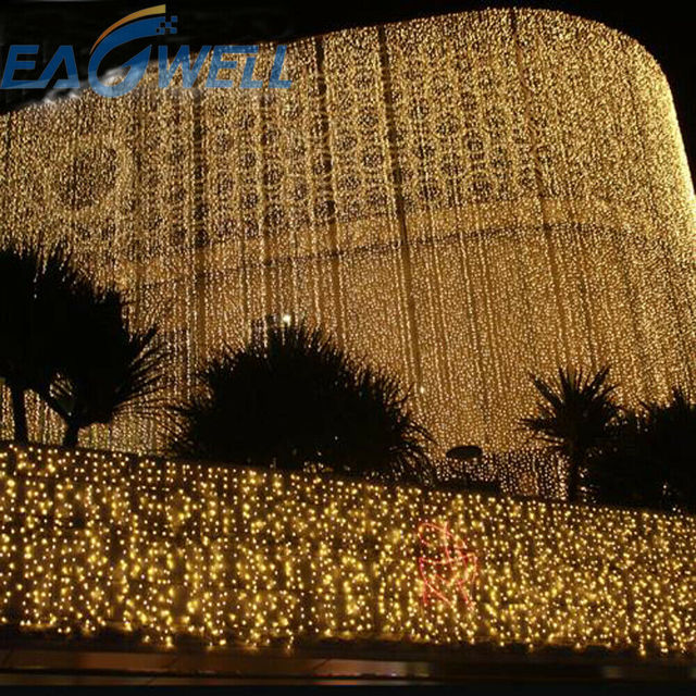 3-30M Festoon Christmas Curtain Icicle LED String Light Indoor Outdoor Party New Year Garland Fairy Decoration Light for Home 4