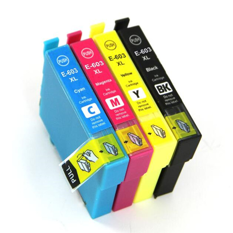 T603 T603XL Compatible Ink Cartridge For Epson XP-2100 XP-2105 XP-3100 XP-3105 XP-4100 XP-4105 WF-2810 WF-2830 WF-2835 WF-2850