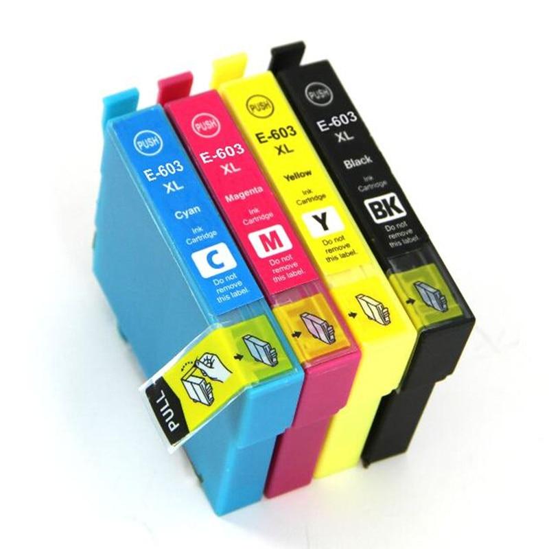 T603 T603XL Compatible cartucho de tinta para Epson XP-2100 XP-2105 XP-3100 XP-3105 XP-4100 XP-4105 WF-2810 WF-2830 WF-2835 WF-2850