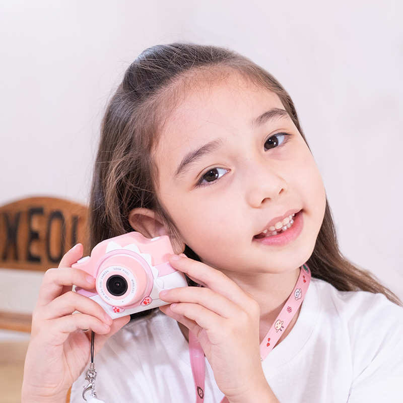 Hot Selling WiFi New Style Cute Children Camera Gift Cartoon Digital Toy Gift Douyin Celebrity Style