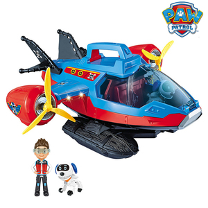 Image 1 - Paw Patrol Dog Toy set Toys Air patrol Aircraft Toy Pirate Ship Robot Dog Music Action Figures Toy for Children Birthday Gift