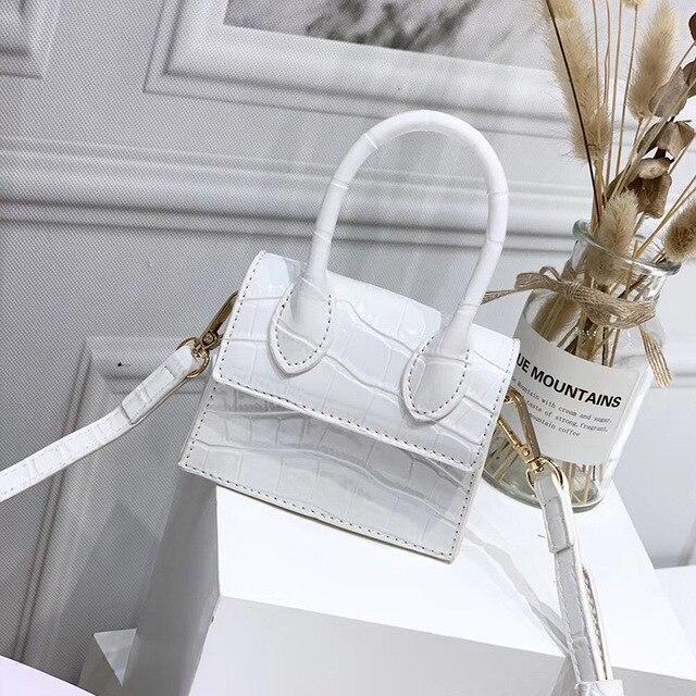 Mini Crocodile Pattern Shoulder Bags 5