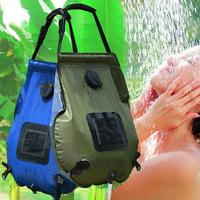20L Outdoor Portable Camping Hiking Solar Heated Shower Bathing Water Bag Case Solar Heated Shower Bathing Water Bag Case