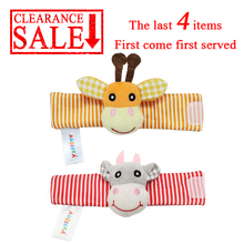 Wrist Rattles Baby Toys 0 4 6 12 13 24 Months Toys For Infants Newborns Children Educational Toys 0 Cute Soft Rattles For Kids