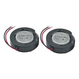 Image 3 - GHXAMP 24mm 1 pouce Woofer haut parleur unité 4ohm 2W Mini haut parleur bricolage pour navigateur voix haut parleurs numériques 2 pièces