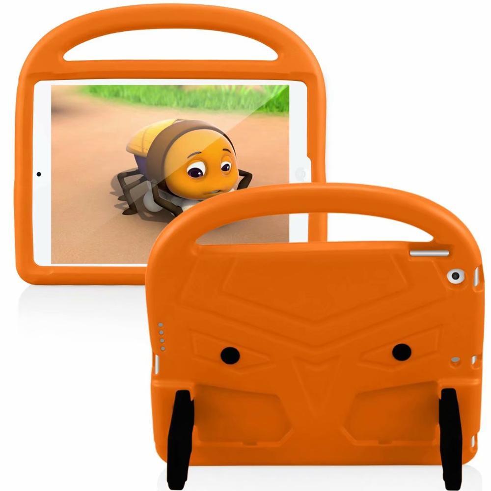 Orange Red EVA Silicon Coque for iPad Pro 11 2018 2020 Case Kids Cartoon Bird Shockproof A1980 A2230
