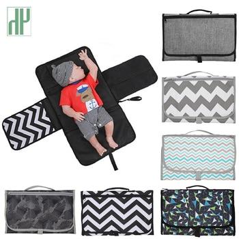 Multifunction Portable Diaper Changing Bag Pad Folding Bag Baby Changing Mat baby mattress changing pad housse matelas a langer сумка stokke changing bag v2