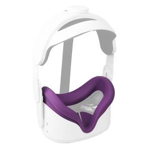 Image 2 - ซิลิโคนEye Maskหน้าปกAnti เหงื่อป้องกันการรั่วซึมUnisex LightฝาครอบPadสำหรับOculus Quest 2แว่นตาVRอุปกรณ์เสริม