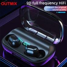 T11 TWS Bluetooth 5.0 Earphone 9D Stereo Wireless Earpiece Headset HI-FI Earbuds HD Call Waterproof