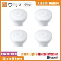 2021 Xiaomi Mijia Night Light 2 versione Bluetooth luminosità regolabile sensore a infrarossi intelligente per il corpo umano con Base magnetica