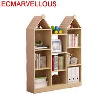 Wall Shelf Bureau Meuble Decoracao Boekenkast Decor Kids Mueble Vintage Wood Decoration Book Furniture Retro Bookshelf Case