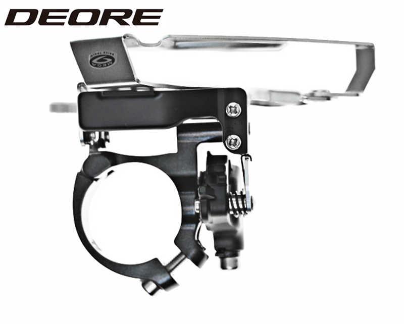 Shimano Deore FD M590 передний переключатель 9 скоростей горный велосипед передний переключатель подходит для рамы 34,9 мм