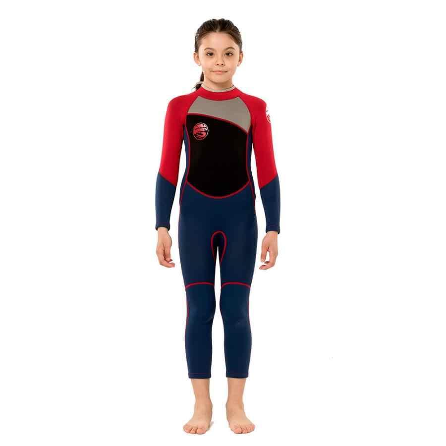 Childrens Full Length Wetsuit black age 7-8 years old Boy Girl CHILDS kids swim