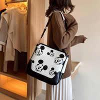 Женская сумка, сумка Микки, милая дамская сумка для покупок, женская сумка через плечо, женская сумка для хранения, сумка-тоут, Bolsa Feminina