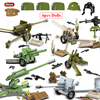 Oenux WW2 The Battle Of Moscow Military Scenes Small Building Block Mini Soviet Russian Army Soldier Figure Brick Block Kids Toy