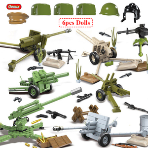Image 1 - Oenux WW2 The Battle Of Moscow Military Scenes Small Building Block Mini Soviet Russian Army Soldier Figure Brick Block Kids Toy