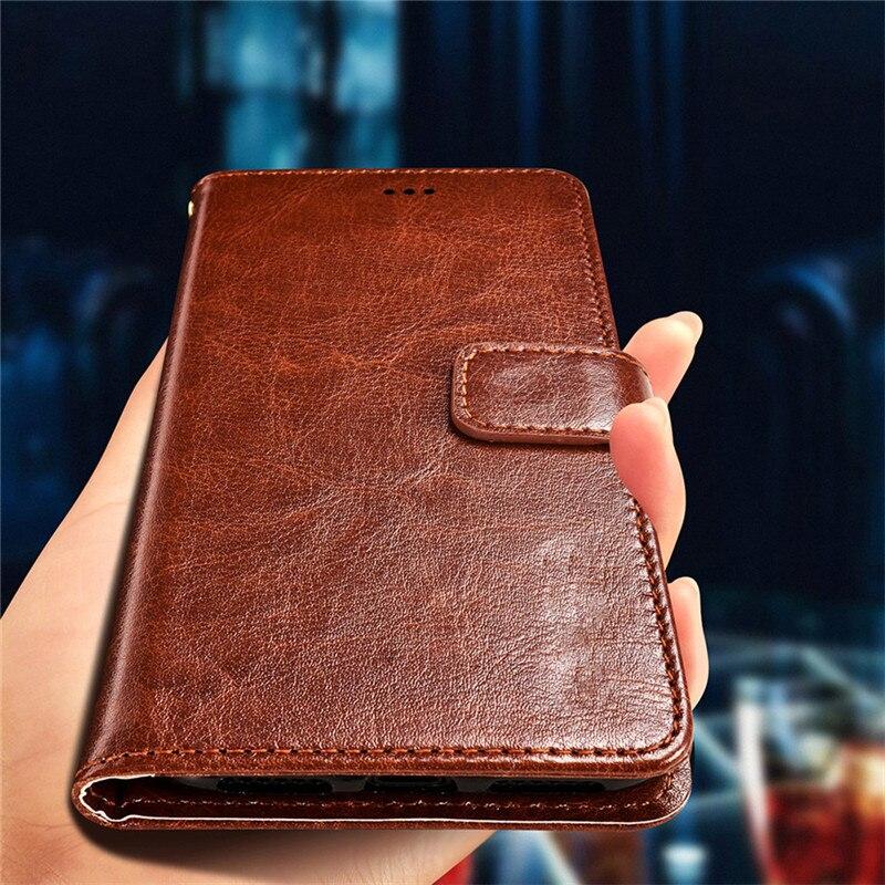 Deri cüzdan telefon kılıfı için Infinix akıllı not 4 5 3 2 Pro sıcak S3X S3 4 5 S 6 pro sıfır 4 artı Flip Case yumuşak kapak