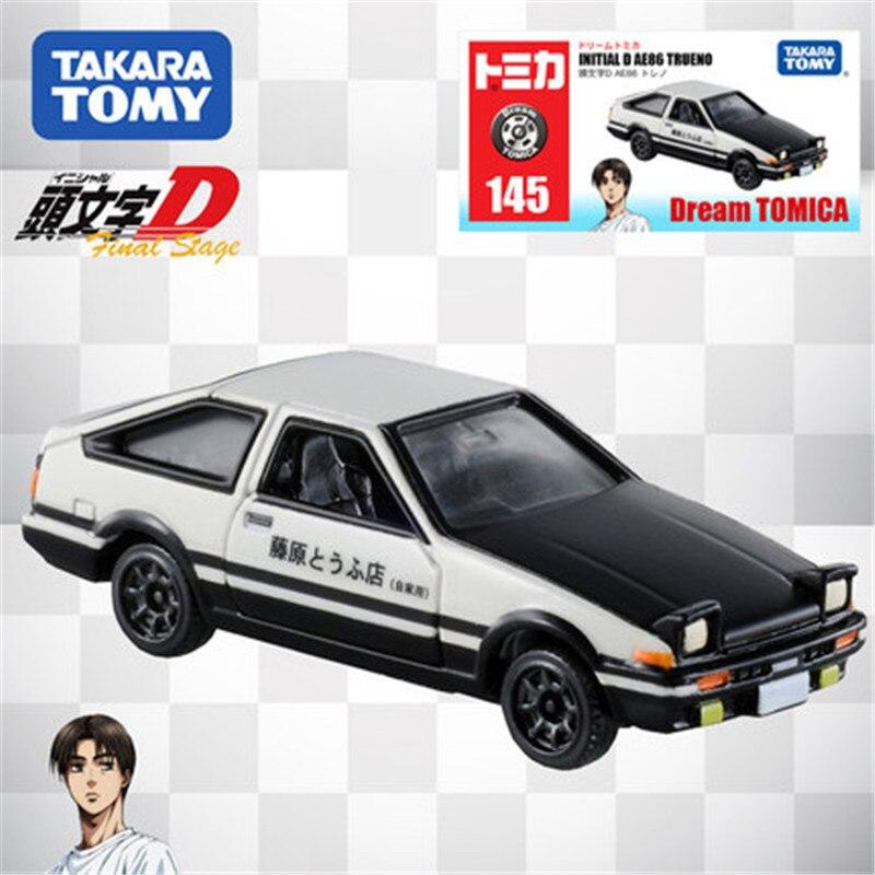 Tomica tomica liga simulação modelo de carro toyota ae86 carro de corrida metal fundido brinquedo bauble kit colecionável periféricos encaixotado 486466
