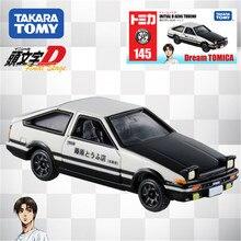 Tomy Tomica alaşım simülasyon araba modeli Toyota Ae86 yarış araba Metal Cast oyuncak biblo kiti koleksiyon çevre birimleri kutulu 486466