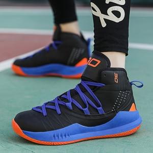 Image 4 - Männer Casual Schuhe männer Atmungs Training Net Schuhe Klassische Tennis Schuhe männer Sport Basketball Schuhe Sapatos Große größe