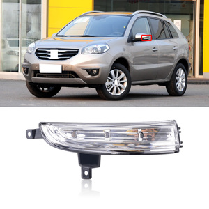CAPQX For Renault Koleos Side Rearview Mirror Turn Signal Light LED Indicator Lamp Outer Reversing Mirror Flashing Repeater Lamp