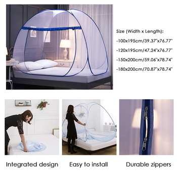 Pop-up mosquito net for tent 1