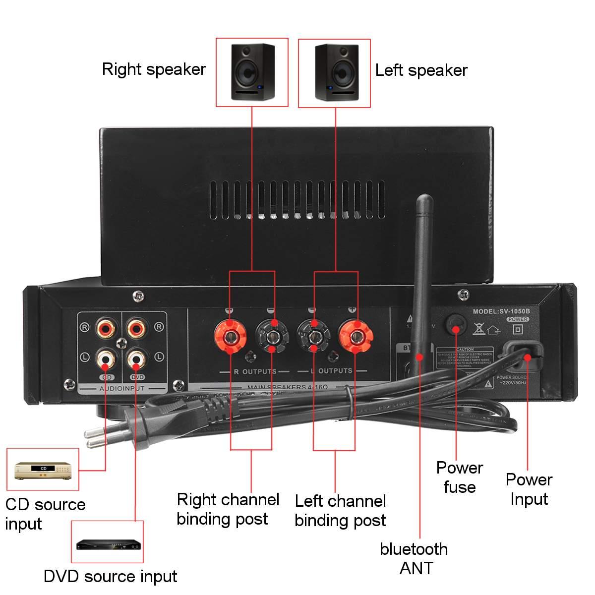 ламповый hi-fi усилитель sunbuck 6f1, 2.0