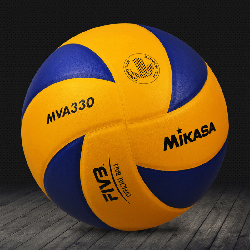 Original Japan Mikasa Volleyball MVA330 Soft PU Leather Training Professional Official Competition Volleyball