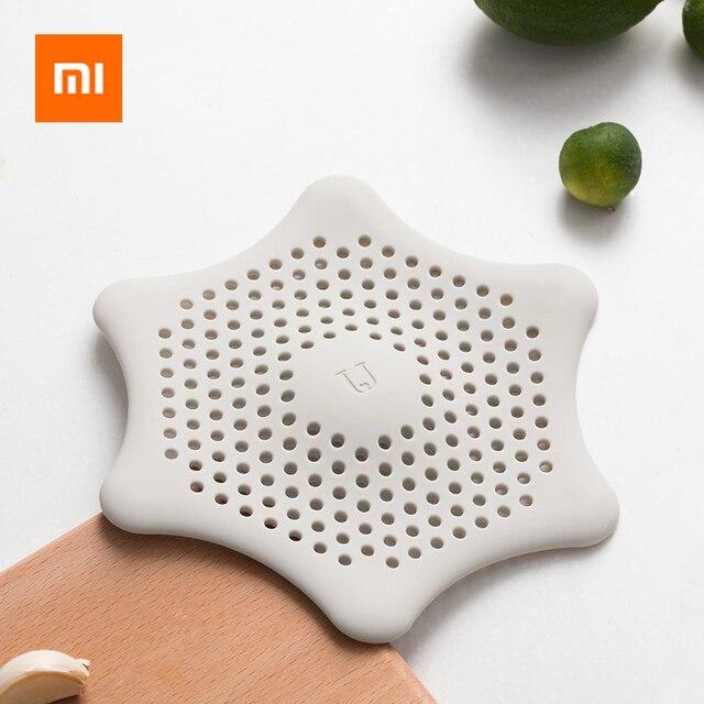 Xiaomi Kitchen Drains Sink Washbasin Strainers Drain Hair Colander For Bathroom Kitchen Cleaning Sink Filter Accessories Gadgets