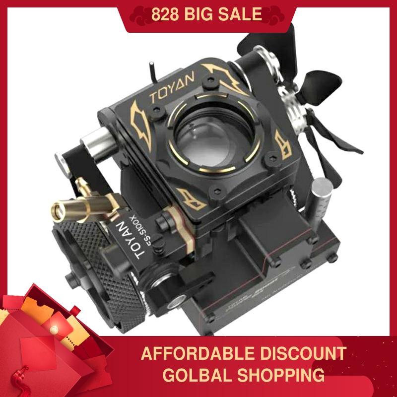 Cámara de combustión de motor TOYAN FS-S100AT Visual Fifth Anniversary Edition