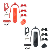 For Xiaomi M365 Pro Accessories Set 6Pcs/Set for Electric Scooter Rear Fender Wing Mudguard Shock Absorption Accessories