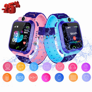 Kids Smart Watch Phone Call Children's Watch For Boys Baby GPS Smartwatch Remote Control Sports Bracelet Android Xiaomi ios