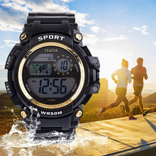 Kids Watches Fashion Multi Function Luminous Waterproof Spor