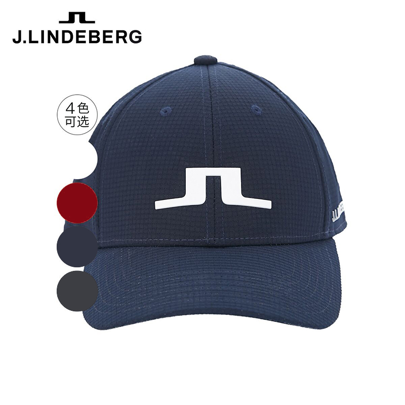 Men's golf cap with breathable moisture absorption and quick drying fabric and cap clip golf hat