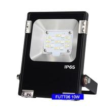 Miboxer DC24V 10W RGB+CCT LED Flood light FUTT06 2.4G Waterproof IP65  Outdoor lamp For Garden building Grassland lighting