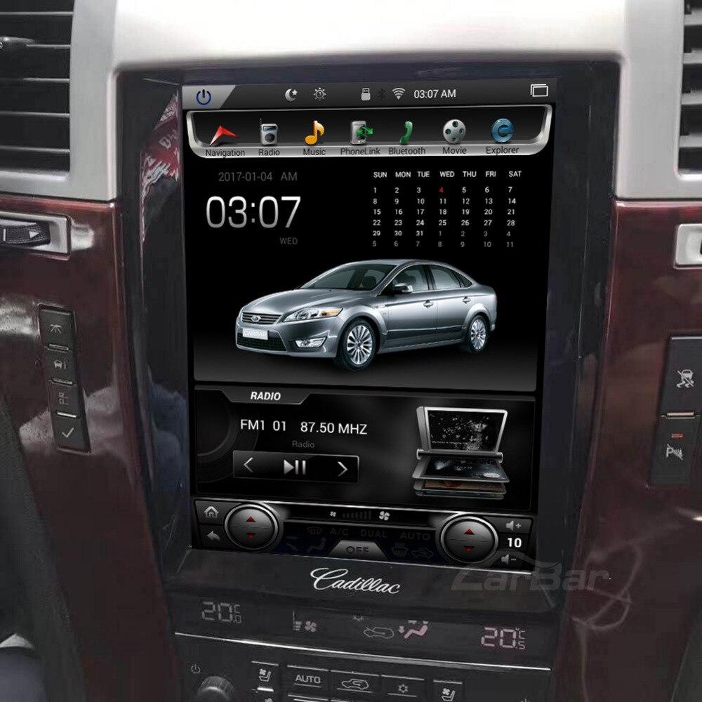 "10.4 ""écran Vertical Tesla 1024*768 Android voiture DVD GPS Navigation Radio lecteur Audio pour Cadillac Escalade RAM 2GB 4 Core"