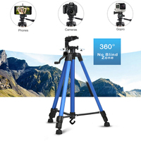 BAODELI Professional Aluminum Flexible Camera Tripod Stand Holder For Blogger Dslr Canon Mobile Cell phone Video Accessories