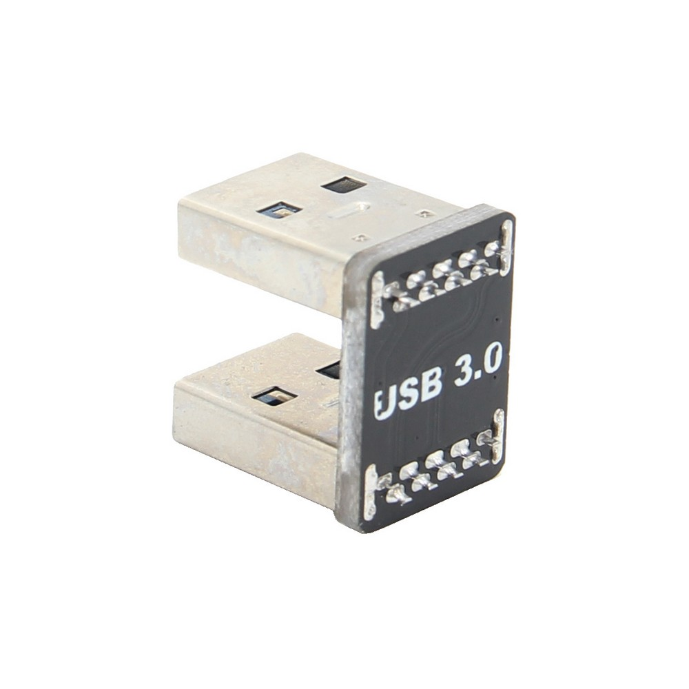 Raspberry Pi USB 3.0 Connector Bridge For Raspberry Pi 4 Model B/3B+(Plus)  / ROCK64