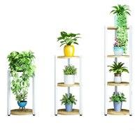 Decoração interior província espaço varanda flor rack de ferro arte da prateleira uma sala de estar à terra vaso quadro flor ares|Prateleiras de plantas| |  -