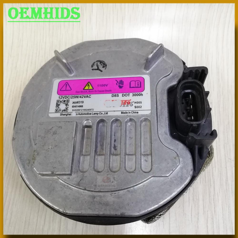 26206319 D8S ballast 1pieces Original OEMHIDS D8S Xenon HID Ballast for 15-16 Bui-ck Genuine Used 654514868 12V <font><b>25W</b></font> image