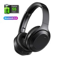 New Bluetooth 5.0 Wireless Headphones Bluetooth Stereo Adjustable Headset Audio Mp3 Earphones with Mic for Music Gamer Headset