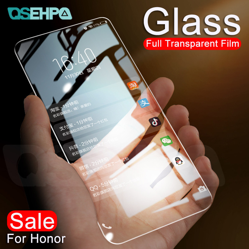 9H Tempered Glass on the For Huawei <font><b>Honor</b></font> 9X <font><b>8X</b></font> 8A 8C 8S 20S 9i 10i 20i V20 20 Lite Screen Protector Protective Glass Film Case image