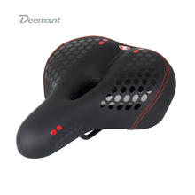 Bicycle Saddle Cycling wide Saddle Seat Road MTB Bike Wide Soft Pad Comfort Cushion cycling bicycle part with Tail Light Special