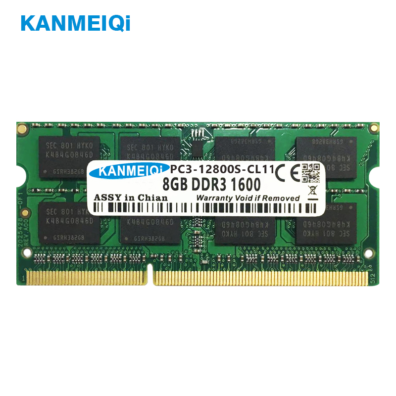 KANMEIQi DDR3 2GB/4GB/8GB Laptop Memory With Dual Channel Support 1