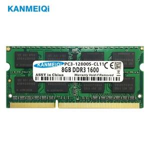Image 2 - KANMEIQi DDR3 4GB 8GB دفتر ذاكرة الوصول العشوائي DDR3L 1333/1600MHZ 1.35v 204pin ذاكرة الكمبيوتر المحمول SO dimm جديد 2G 1.5V