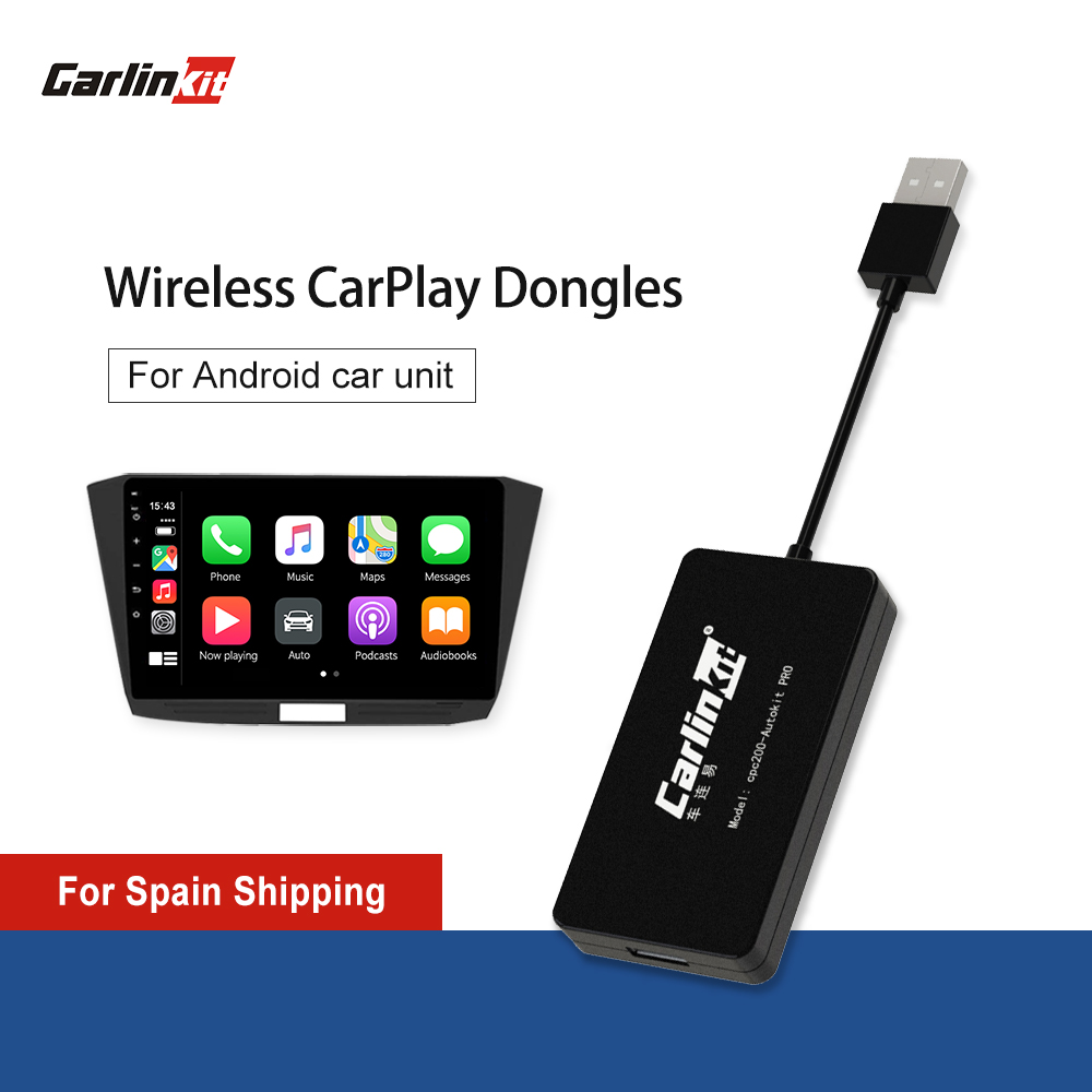 Carlinkit Wireless Apple CarPlay  Android Auto Carplay  Smart Link USB Dongle for Android Navigation Player Mirrorlink  IOS 14